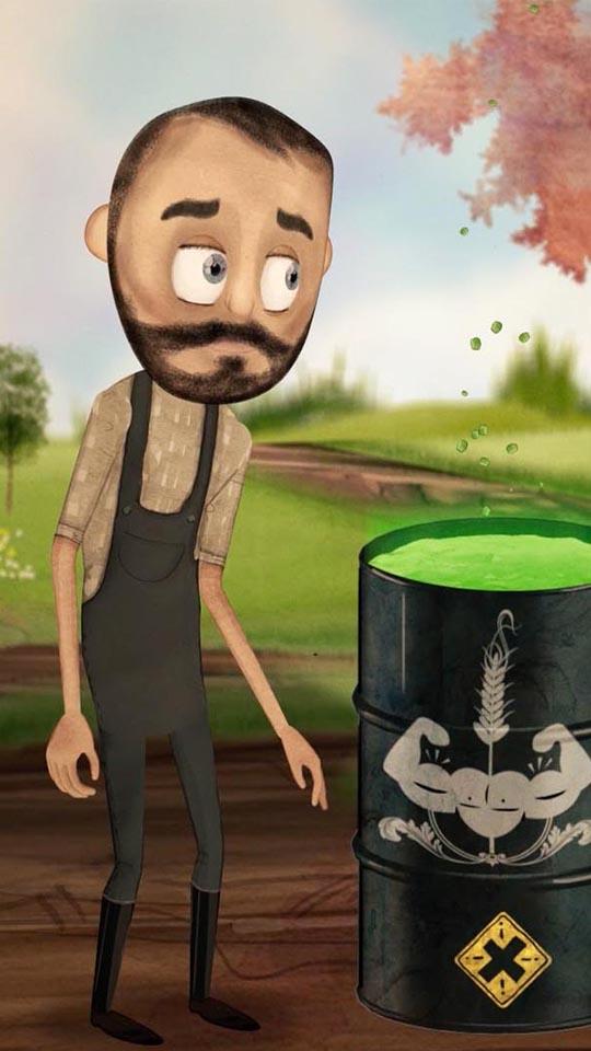 Gröna gårdar animation